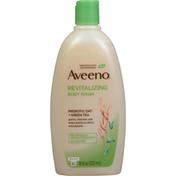 Aveeno® Body Wash, Revitalizing, Prebiotic Oat + Green Tea