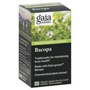 Gaia Herbs Bacopa, Vegan Liquid Phyto-Caps