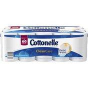 Cottonelle CleanCare 1-Ply Double Roll Toilet Paper