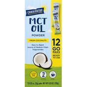 Carrington Farms MCT Oil Powder, 12 Go Paks
