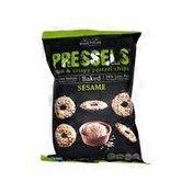 Dream Pretzels All Natural Pressels, Thin & Crispy Sesame Flavor Pretzel Chips