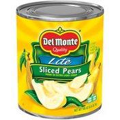 Del Monte Quality Lite Sliced Del Monte Quality Lite Sliced Pears