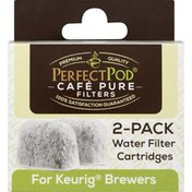 Perfect Pod Water Filter Cartridges, 2-Pack