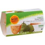 Wild Harvest Pears, Organic, Diced