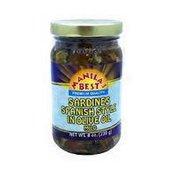Manila's Best Sardines Spanish In Olive Oil Mild