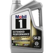 Mobil Motor Oil, Advanced Full Synthetic, 5W-20