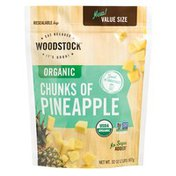 WOODSTOCK Organic Chunks of Pineapple