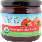 Clearly Organic Organic Fruit Spread