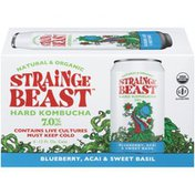 Strainge Beast Blueberry, Acai & Sweet Basil Hard Kombucha Beer