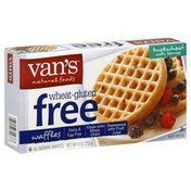 Van's Natural Foods Waffles, Buckwheat with Berries