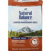 Natural Balance Dog food, Grain Free, Salmon & Sweet Potato Formula