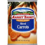 market basket Carrots, Sliced, No Salt Added