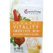 Essential Living Foods Smoothie Mix, Organic, Vitality