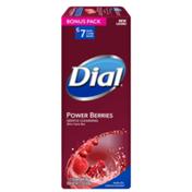 Dial Skin Care Bar Soap, Power Berries