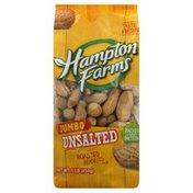 Hampton Farms Peanuts, Roasted, Unsalted, Jumbo