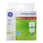 GE Energy Smart Instant On 20 Watt General Purpose Bulb
