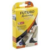 Futuro Dress Socks, for Men, Firm, Large, Navy