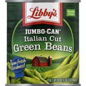 Libby's Green Beans, Italian Cut, Jumbo-Can