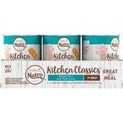 NUTRO Kitchen Classics Adult Premium Loaf Steamed Fish & Sweet Potato Recipe Dog Food