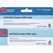Harris Teeter Anti-Itch Cream with Aloe, Maximum Strength