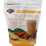 Hannaford Tropical Fusion with Greens Smoothie