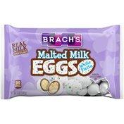 Brach's MILK CHOCOLATE Malted Milk White Fiesta EGGS CANDY