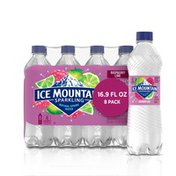Ice mountain Sparkling Water, Raspberry Lime