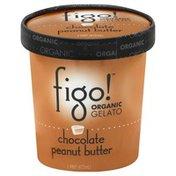 Figo! Gelato, Organic, Chocolate Peanut Butter
