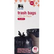 Food Lion Tie Flap Trash Bags