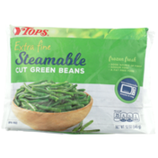 Tops Steamable Extra Fine Cut Green Beans