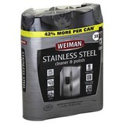 Weiman Cleaner & Polish, Stainless Steel