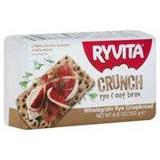 Ryvita Crispbread, Crunch, Wholegrain Rye, Oat Bran, Wrapper