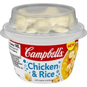 Campbell's® Chicken & Rice with oyster crackers