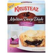 Krusteaz Molten Deep Dish Sugar Cookie with Chocolate Center Cookie Mix
