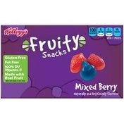 Kellogg's Fruity Snacks Mixed Berry Fruit Flavored Snacks