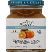 Casa Giulia Fruit Spread, Orange with Agave Syrup