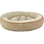 "Harmony 20"" Round Tan Textured Cat Bed"