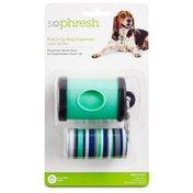 So Phresh Pick It Up Dog Bag Dispenser With Refills