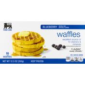 Food Lion Waffles, Blueberry