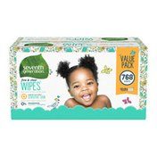 Seventh Generation Baby Wipes With Dispenser Free And Clear