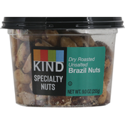 KIND Brazil Nuts, Dry Roasted, Unsalted