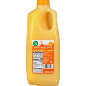 Food Club 100% Juice, No Pulp, Original, Orange