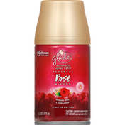 Glade Spray Refill, Automatic, Peaceful Rose & Wood