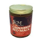 Jem Raw Organic Sprouted Almonds Spread, Cinnamon Red Maca