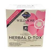 Garden of Life Herbal D-tox Easy, 12-day Whole Body Cleanse Supplement Wild Rose