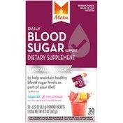 Metamucil Daily Blood Sugar Support Pink Lemonade Dietary Supplement