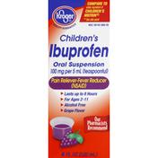 Kroger Ibuprofen, Oral Suspension, Grape Flavor