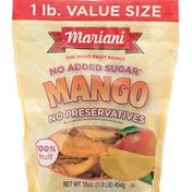 Mariani Mango, Value Size