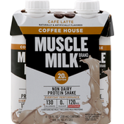 CytoSport Muscle Milk Protein Shake, Non Dairy, Cafe Latte