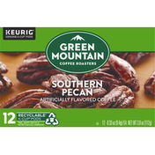 Green Mountain Coffee Roasters Coffee, Southern Pecan, K-Cup Pods, 12 Pack